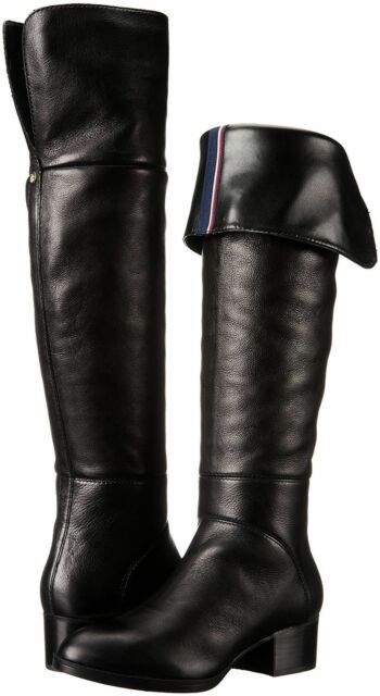 18b07a21c0163c Details about Tommy Hilfiger Gianna Tall Boots