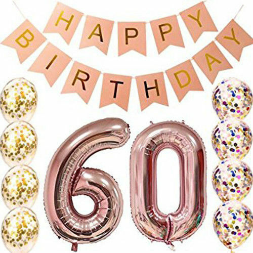 """40/"""" inch Giant Foil Number Self Inflating Balloons Birthday Age Party Wedding"""