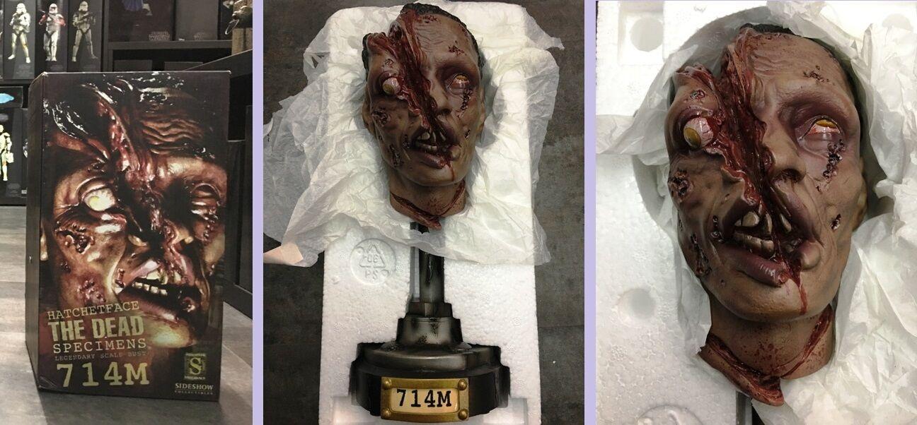 Sideshow The Dead Specimen 714 Hatchet Head  - Legendary Scale Bust