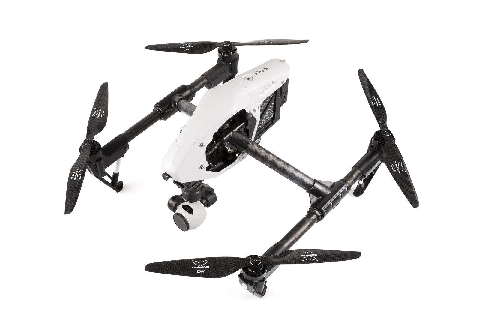 Hélices de fibra de carbono y adaptadores para DJI Inspire 1 matriz 100 Drone