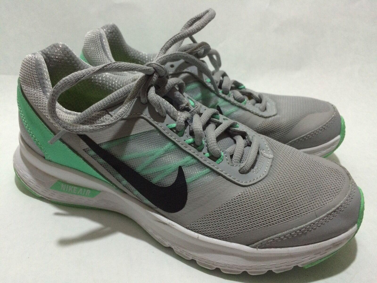 Nike Air 807098-002 Grey/Green Women's Running Shoes Comfortable Great discount
