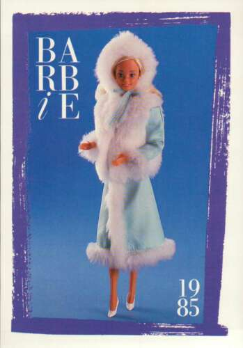 """Barbie Collectible Fashion Card  /"""" Spectacular Fashions /""""  1985"""