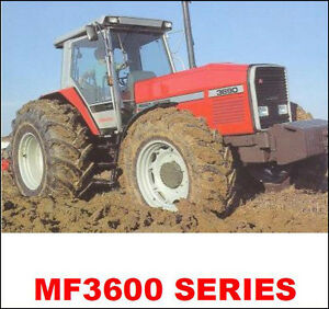 massey ferguson tractors shop service repair manual mf 3600 3670 rh ebay com massey ferguson 3690 manual pdf Massey Ferguson Operators Manual