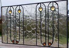 Vetro piombo quadro finestra Art Nouvea Protezione Vista in Tiffany(Rame/Zinco)