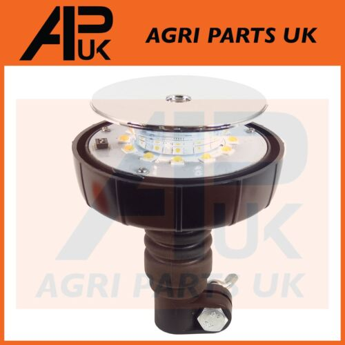 Flexi LED Flashing Amber Beacon John Deere Fendt Case IH JCB McCormick Tractor