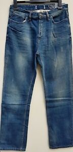 Men-039-s-New-FAT-FACE-Coupe-Droite-Jeans-W30-034-L32-034-Mid-Wash-RRP-55