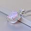 Damen-Halskette-echt-Silber-925-Opal-Stein-Kette-Silber-mt-Anhaenger-Geschenk-Neu Indexbild 12