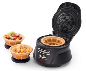 Presto-03500-Belgian-Bowl-Waffle-Maker-Black