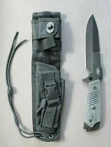 New in Box - UZI Fixed Blade Knife w/ Sheath ZF0036B, Tactical