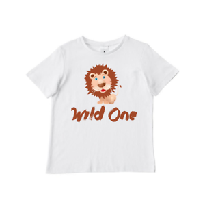 Image Is Loading Wild One Birthday T Shirt 1st Gift