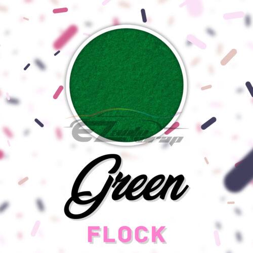"Green Flock Heat Transfer Vinyl HTV T-Shirt 20/"" Roll Iron On Heat Press DF07"