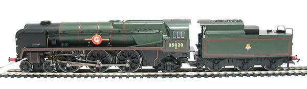 Hornby R2204 BR 4-6-2 M N Class Bibby Line 35020 Mint Boxed