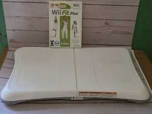 Wii Balance Board With Wii fit Plus Tested FAST SHIPPING INCLUDED