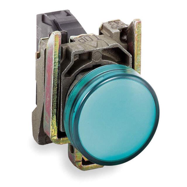 XB4BV63 This Harmony XB4 Plain Lens Modular Green Pilot Light is Supplied with 250V AC//DC Schneider Electric Harmony XB4 uses BA9s base
