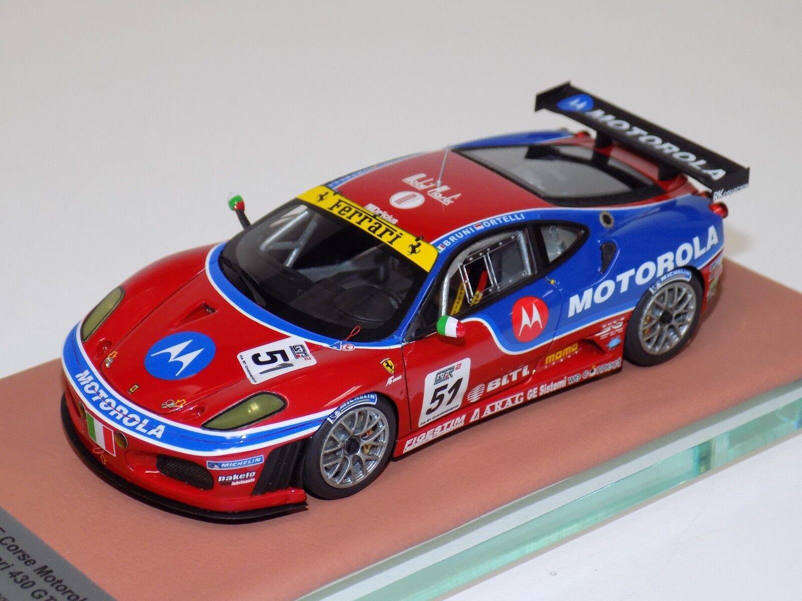 ab Modelos Ferrari F430 GT2 51 Acción Figura Corse Motorola 2018 FIA ABB104