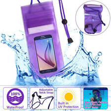 Waterproof Cell Phone Carrying Cases Pouch Bag For Samsung HTC Apple Smartphone