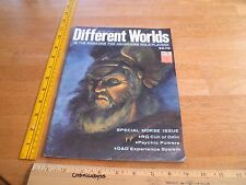 Different Worlds 1983 role player RPG magazine #26 Norse issue D&D