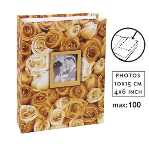 Ideal Anywhere Roses Fotoalbum für 100 Fotos in 10x15 cm Einsteck Foto Album