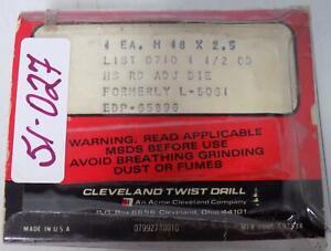 CLEVELAND-TWIST-DRILL-M18-x-2-5-ADJ-HEX-RETHREADING-DIE