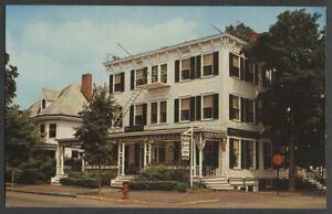 Milford-Pike-County-PA-c-1960s-Postcard-FAUCHERE-039-S-INN-Hotel-amp-Restaurant