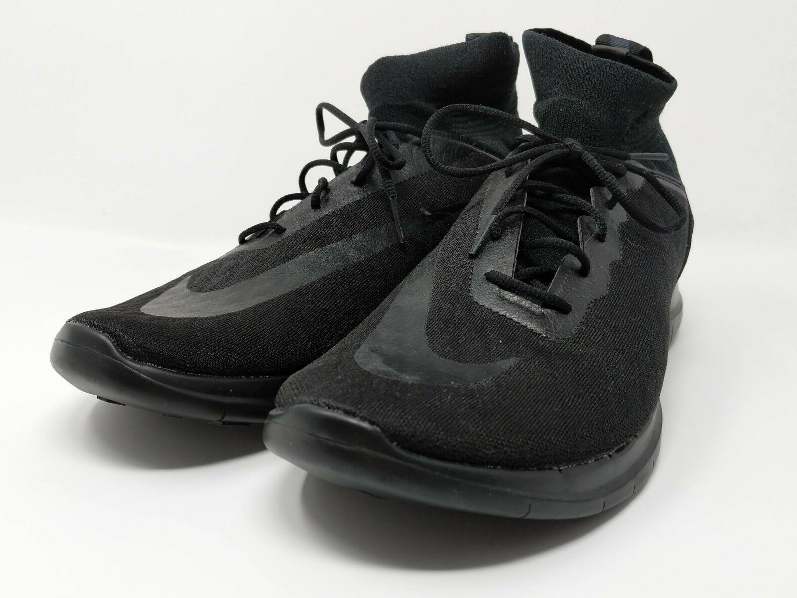 The latest discount shoes for men and women New Nike Free 4.0 Hypervenom 3 FK FC Men US Sz 10.5 898030-004 Black Soccer