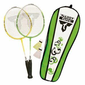 Badminton-Spielset-Kinder-Federballspiel-Schlaeger-Ball-Spiel-Freizeit-Set-Sport