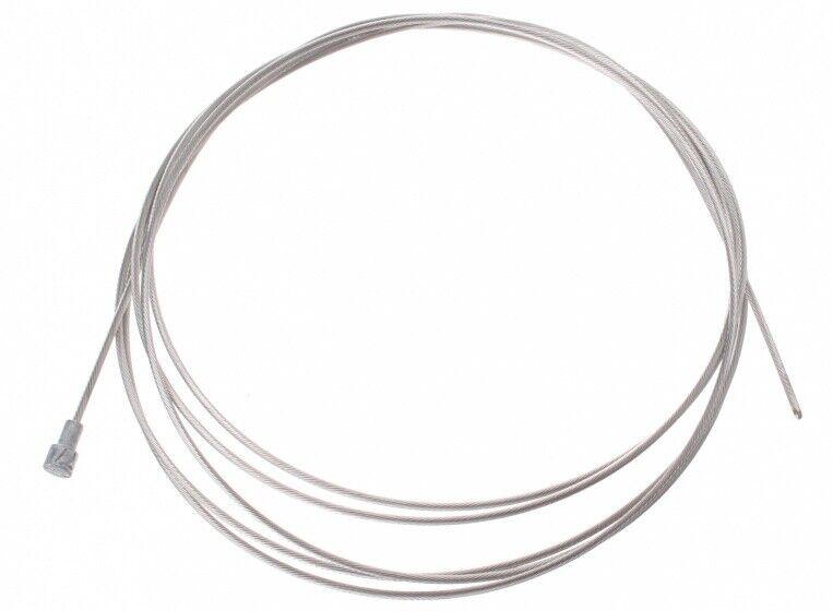 Slurf innenbremsseil Birnennippel Edelstahl 200 cm Silber 50 Stück