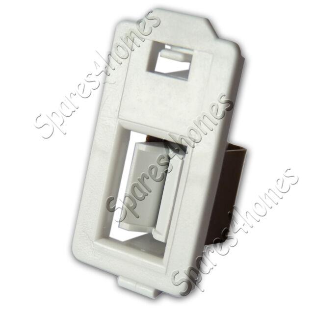 GENUINE WHIRLPOOL BAUKNECHT IGNIS TUMBLE DRYER DOOR CATCH LOCK 481227138462