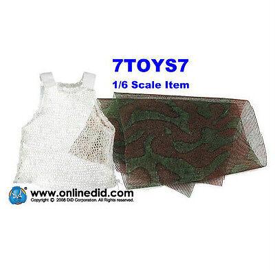 Camo Face Veil /_DDX49T DID 1//6 Red Devil Michael Taylor/_ Vest