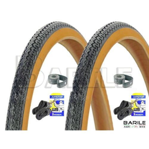 2 Rooms 2 Tire 2 Flap bike 26 x 1-3//8 N//P michelin Wolrd tour