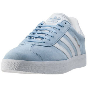 d0a4b27dad655 Image is loading adidas-Gazelle-Mens-Trainers-Light-Blue-New-Shoes