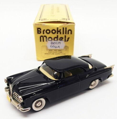 Modèles Brooklin Échelle 1/43 Brk19 004a - 1955 Chrysler C300 Noir