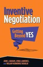 Inventive Negotiation, Graham, John L., New Book
