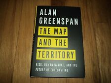 The Map and the Territory : Risk, Human Nature, and the Future of Forecasting by Alan Greenspan (2013, Hardcover)