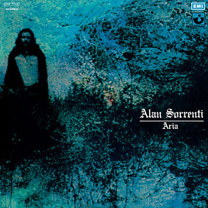 ALAN-SORRENTI-Aria-ltd-ed-clear-green-vinyl-LP-italian-prog