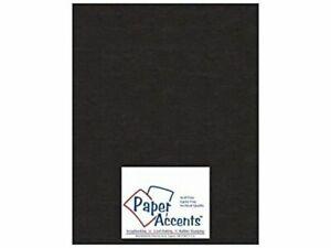25 Piece Accent Design Paper Accents Chpbrd Chipboard 12x12 1X Heavy 50pt Black