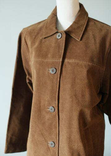 Vintage Woolrich Suede Leather Work Woods Jacket V
