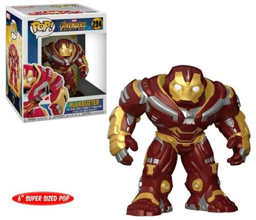 "Hulkbuster 6/"" Pop FUN26898 Vinyl Infinity War Avengers 3"