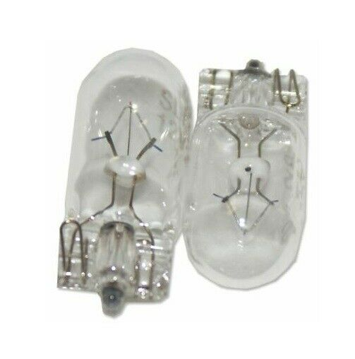 20 x LARGE 10mm CLEAR FRUIT MACHINES BUTTON BULBS 12v-1.2w Wedge LAMPS