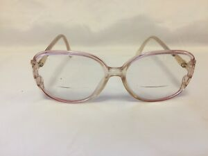 ea1c1a44e5 Image is loading Vintage-Blue-Rose-Marchon-Clear-Rx-Eyeglasses-Frames-
