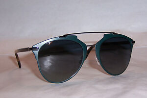 4fb8025ce2fb2 NEW CHRISTIAN DIOR REFLECTED S PVZ-HD GREEN GRAY SUNGLASSES ...