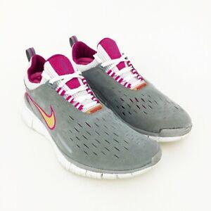 uvas Paso efectivo  Nike Free 5.0 Calzado para Correr Para Mujer Talla 9 Gris Gamuza Tenis Deportivas  2005   eBay