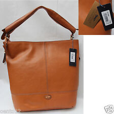 GENUINE PAUL COSTELLOE CELEBRITY TAN LEATHER SHOULDER BAG TOTE SHOPPER rrp £275
