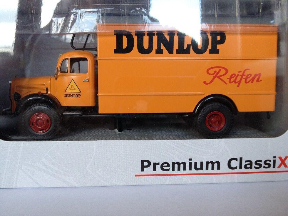 Premium Classixxs 1 43 Mercedes Benz L3500 Dunlop 12401