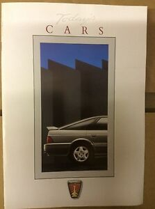 Today-039-s-Cars-Rover-car-range-brochure-early-1990s