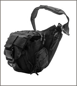 EXTREME-TACTICAL-MESSENGER-BAG-BLACK-600-DENIER-FABRIC-MATERIAL