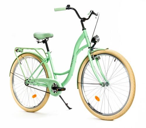 28 Zoll Damenfahrrad MILORD Citybike Stadtrad Vintage Fahrrad 18 Farbe 26 Zoll