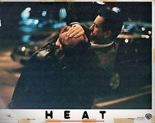 "Robert De Niro Heat Original 11x14"" Lobby Card #M3655"
