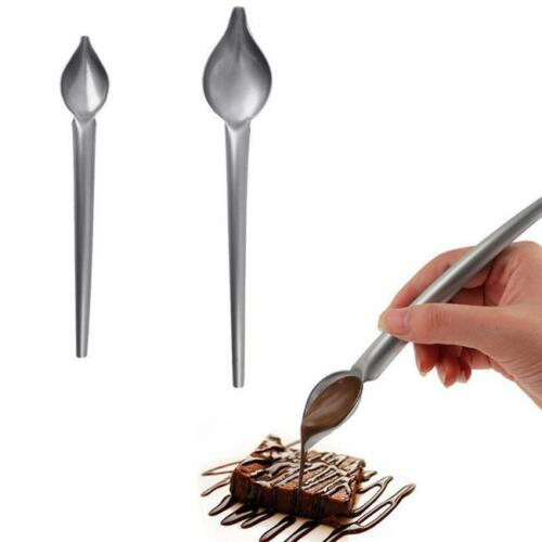 Pencil Filter Chocolate Spoons Cake Decoration Big Small Baking Tools NEW S