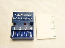 RK ELECTRIC MCS-120A-4T TIMER RELAY ***NNB***